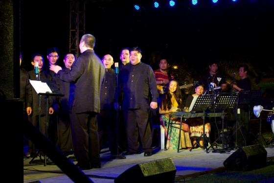 Ateneo Chamber Singers. Photo by Monique Villonco