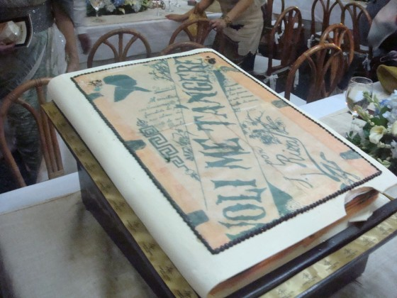 Diamond Hotel's Noli Me Tangere Cake