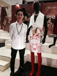 Marc John Carcillar with his Noli dress