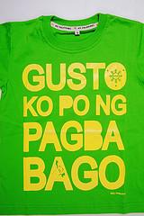 """""""Gusto ko po ng pagbabago"""" t-shirt"""
